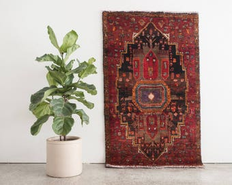 MARZIEH 3.5x5.5 Hand Knotted Persian Wool Rug