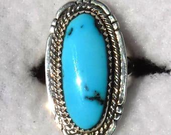 RARE CANDELARIA TURQUOISE Ring   # 1117-w