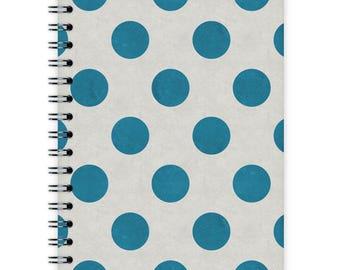 Notebook A6 - Blue Dots