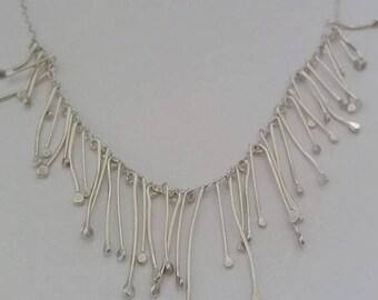 Silver Strand necklace