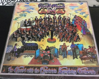 Procol Harum Live In Concert With The Edmonton Symphony Orchestra 1972 A & M Records Most successful UK 5