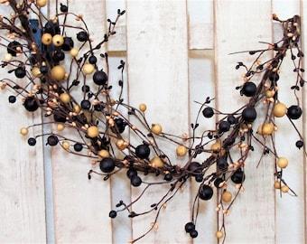 Summer Berry Garland - Pip Berry Garland - Primitive Mulberry Garland - Primitive Country - Spring Garland - Farmhouse Decor