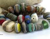 Rock Orphans, Lampwork Beads, SRA, UK
