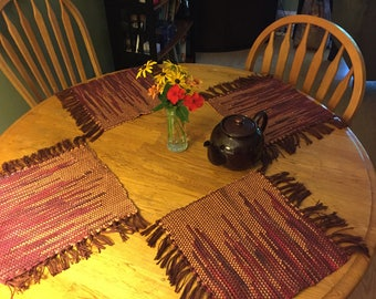 Handwoven Placemats (set of 4)