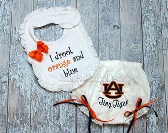 Auburn baby girl gift set