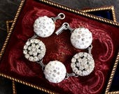 Antique Button Bracelet v...