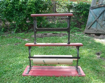 Antique Royal General Store Paper Roll Cutter - Double Rack