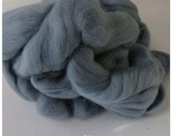 Silve Grey Merino Wool  Fleece Roving for Felting or Spinning Australian Fleece