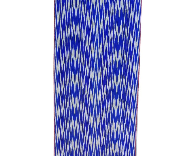 Sale! Ikat Fabric, Ikat Fabric by the yard, Hand Woven Fabric, Cf110