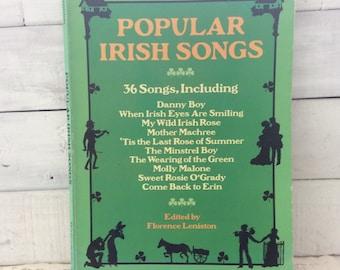popular Irish Songs - Dover Publication - Good Old Songs - music of Ireland - 36 classics  - Irish Melodies - fiddle tunes - chords & lyrics