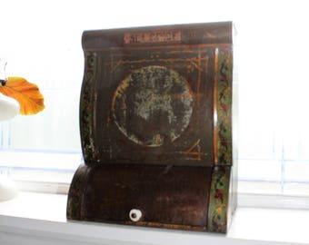 Antique Store Spice Display Bin Dispenser 1800s