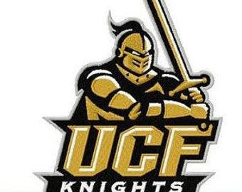 UCF Knight Embroidered Name Iron On Patch