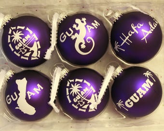 Guam Style Christmas Ornaments