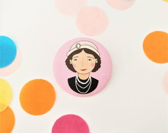 Coco Chanel Badge