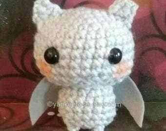 Baby Bat Amigurmi Doll Pattern ONLY