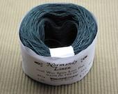 40/2 Marine Blue Normandy Linen Thread