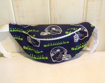 Fanny Pack - Hip Bag - NFL Football Theme - Seattle Seahawks