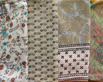 Fat Quarters, Silk Fabric, Sari Silk, FQ 2