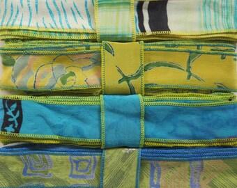 12 Yards of Silk Trim, 4 colors, E44