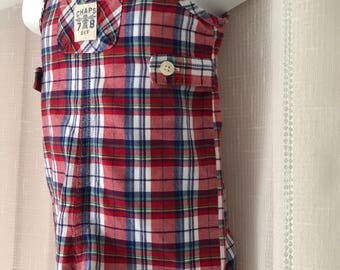 Chaps Baby Boy Shortall 3 mos. (Hat included )