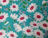 Quilting Cotton, Vintage Fabric, Feedsack, 1940's Fabric, NOT Reproduction, UK Seller,
