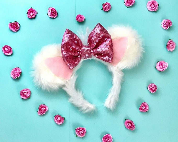 Marie Aristocats Soft Minnie ears