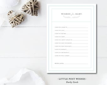 Little Post Wish Cards