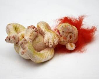 Ditid Troll Baby Cloth Art Doll