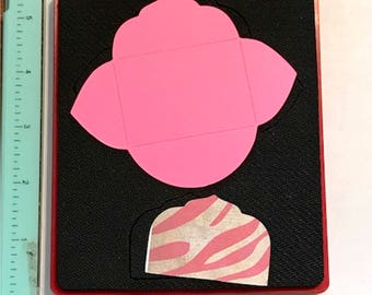 Sizzix Mini Elegant Card & Envelope 38-1163  - Cleaned and Tested (No Storage Case)