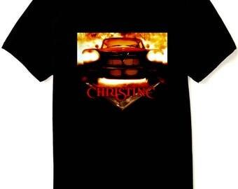 CHRISTINE Movie T Shirt - Plymouth Fury - Stephen King - New