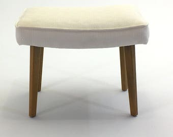 Upholstered Bench Stool by George Nelson for Herman Miller