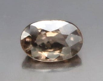 1.78 Ct Natural Zircon Brown Gold Unheated