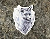 Fox Tattoo - Fox - Fox Temporary Tattoo - Wildlife Tattoo - Beautiful Fox From the British Countryside