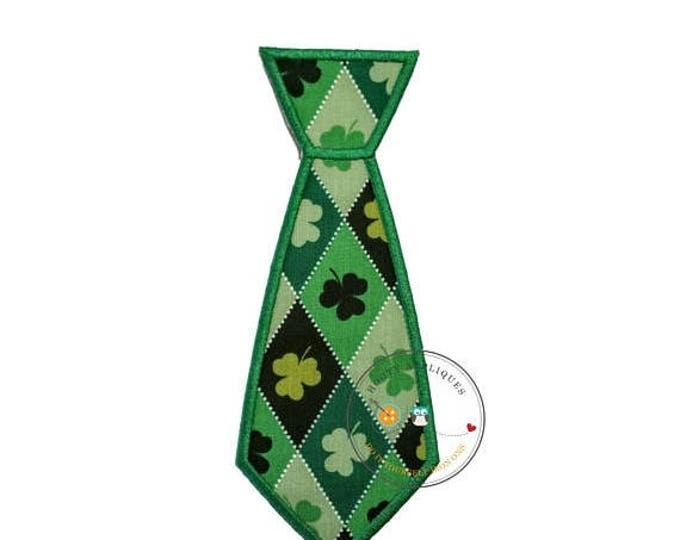 ON SALE NOW First St. Patrick's day iron on fabric applique for boys, Embroidered iron on St. Patty's day patch, Personalized lucky iron on