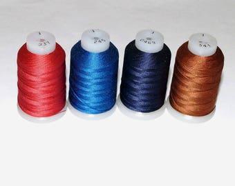 Pure Silk Thread Gudebrod Bros Champion Silk  Size E - 1 Spool