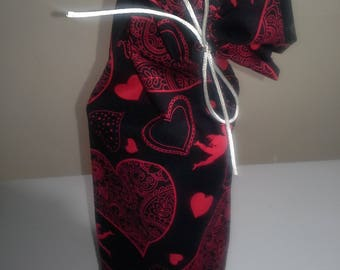 Valentine's Cloth Wine Bag - Free Shipping