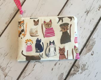 New Ready to ship New Essential Oil Bag, Roller bottle or 5 m Cool Cats fabric (holds 6-8)