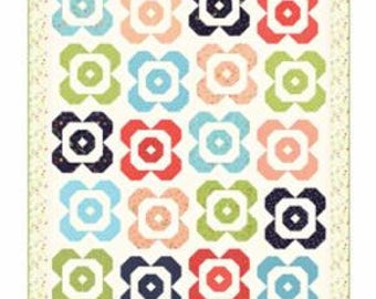INSTOCK Flower Garden #160 Pattern by Sherri McConnell from  A Quilting Life
