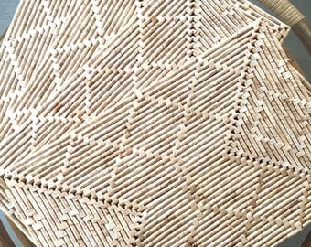 Straw Placemats Etsy