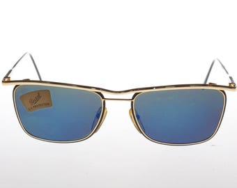 Persol Dilke Blue mirrored vintage sunglasses