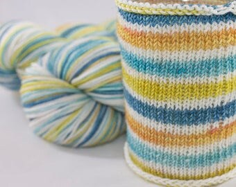 Self Striping Sock Yarn,Sagittarius Colorway