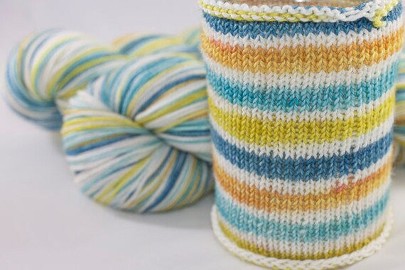 Self Striping Sock Yarn,Sagittarius Colorway