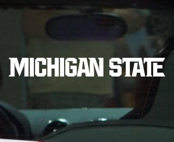 New Michigan State Spartan Athletic Logo Vinyl Car Decal