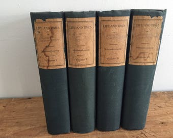 Life and Times of Washington (4 Volume Set) by Schroeder-Lossing