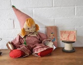 Vintage Toy Clown