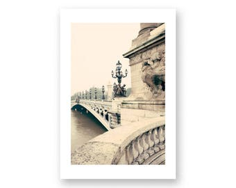 Paris photography, canvas art, paris wall art, large wall art, Paris canvas, Paris print, canvas wall art, Paris photos, Pont Alexandre III
