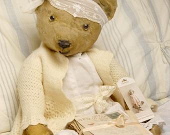 Sold-  Isabella - Antique Vintage bear - SEE NOTE BELOW