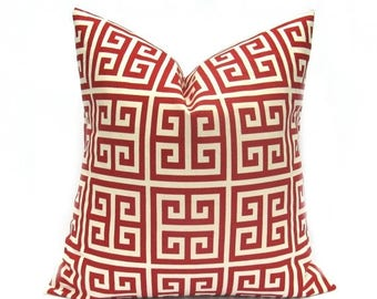 15% Off Sale RED PILLOW Decorative Red Pillow Cover Pillows Accent pillows Throw Pillow covers Toss Pillows Couch Pillows