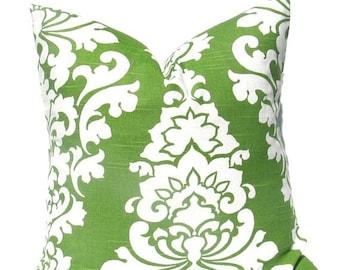 15% Off Sale Green Pillow Green Pillow Cover Throw Pillow cover Greek Key Kelly Green Toss Pillow Decorative Pillow green Accent Pillow Gree