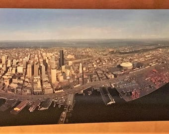 Panorama Poster of Seattle